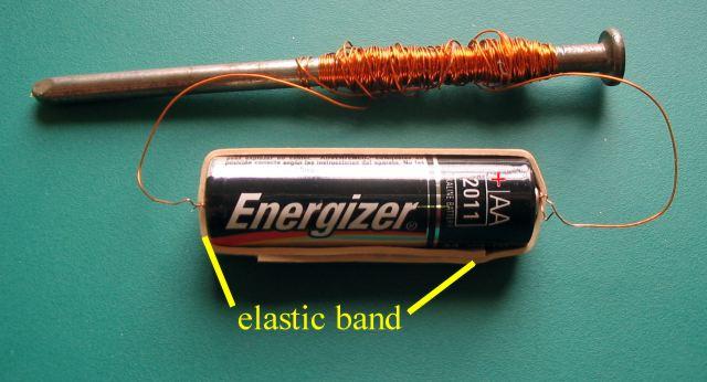 Электромагнит своими рукам